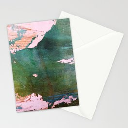 Bottoms Up Abstract Stationery Cards