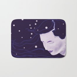 Goddess of Night Bath Mat