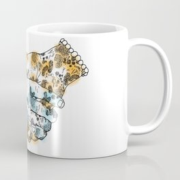 Microscopic Handshake Coffee Mug