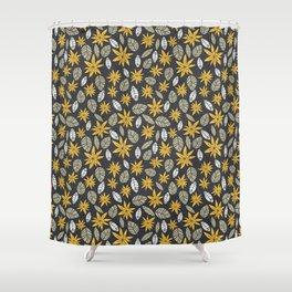 Safari floral pattern Shower Curtain