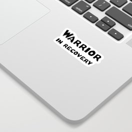 Warrior in Recovery Sticker