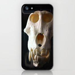baboon bones iPhone Case