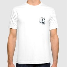Peterson White Mens Fitted Tee SMALL