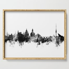 Dresden Germany Skyline Serving Tray