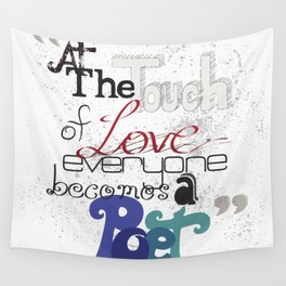 Touch Of Love Wall Tapestry