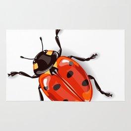 Ladybird beetle Rug