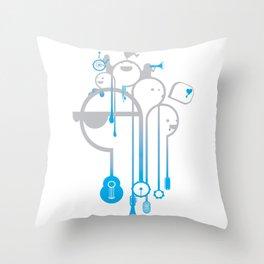 A Rainy Day Throw Pillow