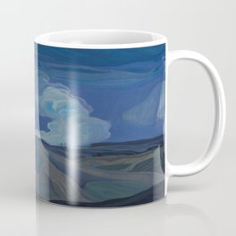 Canadian Landscape Oil Painting Franklin Carmichael Art Nouveau Post-Impression The Nickel Belt 1928 Coffee Mug
