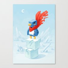 Super Penguin Canvas Print
