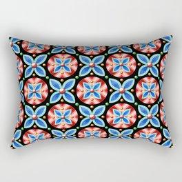 Groovy Quartrefoil Rectangular Pillow