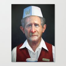 Freedom Fries Canvas Print