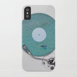 More weird vinyl experiences. iPhone Case