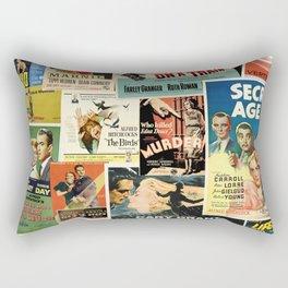Alfred Hitchcock Rectangular Pillow