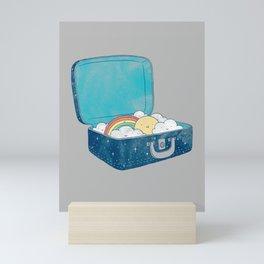 Always bring your own sunshine Mini Art Print