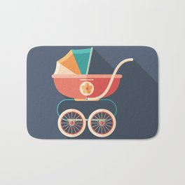 Baby Carriage Bath Mat
