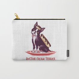 Boston Cream Terrier Carry-All Pouch