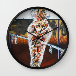 Internal Combustion 2 Wall Clock