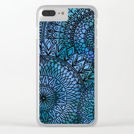Shifting Currents - LaurensColour Clear iPhone Case