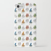converse iPhone & iPod Cases featuring Converse by Amy frances Illustration