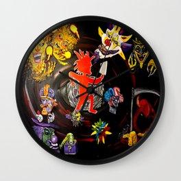 I.C.P Joker Ignited Wall Clock