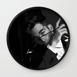 Chris Pine 4 Wall Clock