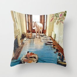 Is There A Prize at the End of All This Throw Pillow