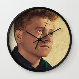 M. Rooney, Holywod Legend Wall Clock