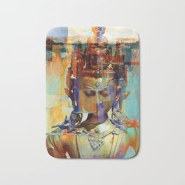 Dakini Wisdom Goddess #5 Bath Mat