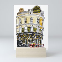 Old Blue Last Pub Mini Art Print