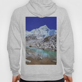 Mount Nuptse view and Mountain landscape view in Sagarmatha National Park, Nepal Himalaya. Hoody