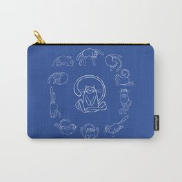 Yoga cats Carry-All Pouch