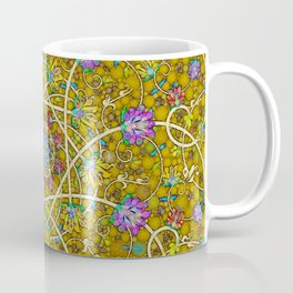 Gold Swirl Coffee Mug
