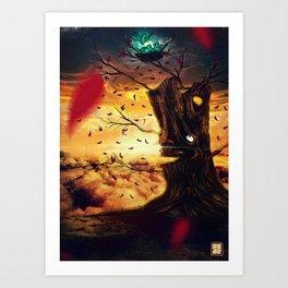 The Last Autumn Art Print