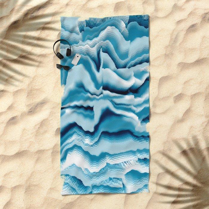Abstract 143 Beach Towel