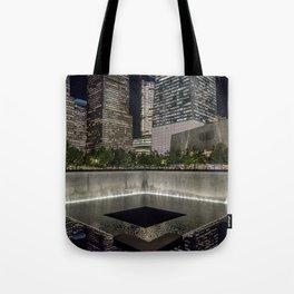 Footprint Fountain - NYC Tote Bag
