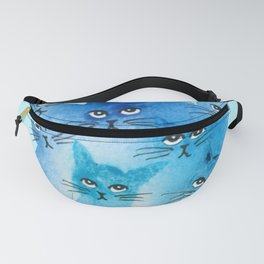 Tours Whimsical Cats Fanny Pack