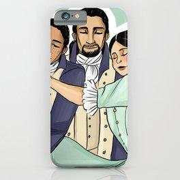 Laurens+Hamilton+Eliza iPhone Case