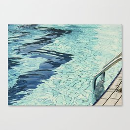 Summertime swimming Canvas Print