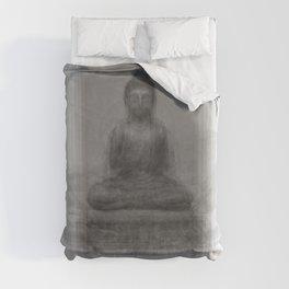 Buddha Overlay Duvet Cover