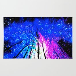 Stars and Trees Rug