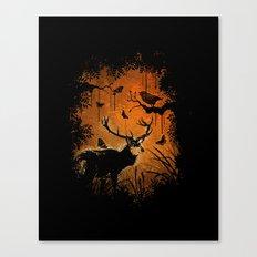 Lost Deer Canvas Print