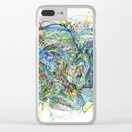 Candlelit Cavern Clear iPhone Case