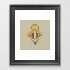 Pyramids 1 Framed Art Print