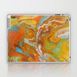 Orange Fizz Laptop & iPad Skin