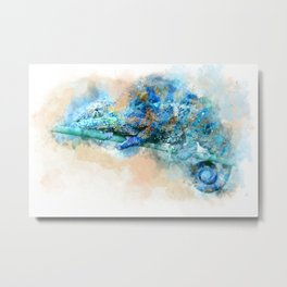 Chameleon– Changed Outside, Real Inside Metal Print