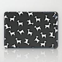 lama iPad Cases featuring LAMA by Monika Strigel