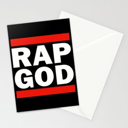 RAP GOD Stationery Cards
