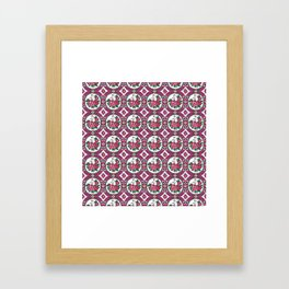 Xyta Pattern Framed Art Print
