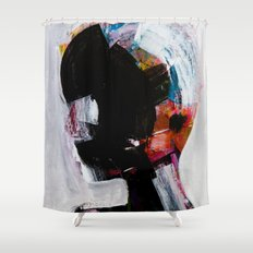 painting 01 Shower Curtain