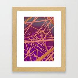 detract! Framed Art Print